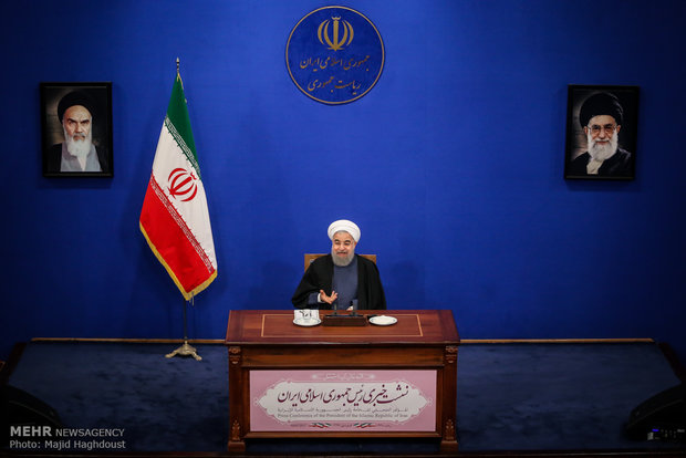 Pres. Rouhani's presser slated for Tue.