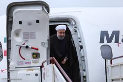 Rouhani arrives in Mazandaran