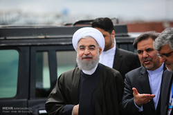 سفر حسن روحانی رئیس جمهور به مازندران