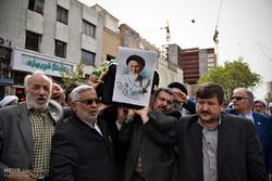 تشییع پیکر مرحوم آیت الله صالحی در مشهد