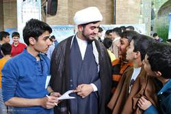 مراسم معنوی اعتکاف در مساجد اصفهان