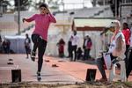 Şiraz'daki kadınlar atletizm yarışmalarından kareler