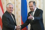 Russian FM Lavrov, US State Secretary Tillerson meet in Moscow