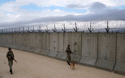 چنینی دیواری سنووری لە گەڵ سووریا کۆتایی هات