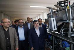 استاندار قزوین از چند واحد تولیدی در شهرک کاسپین بازدید کرد