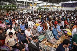 شیراز کی جامع مسجد میں اعتکاف کی معنوی تقریب