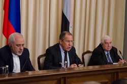 Zarif, Lavrov, Muallem to meet in Moscow