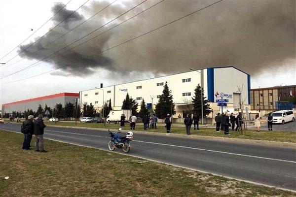 Tekirdağ'da fabrikada kimyasal sızıntı paniği