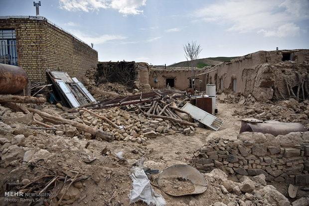 آغاز عملیات اجرایی بازسازی مناطق زلزله زده