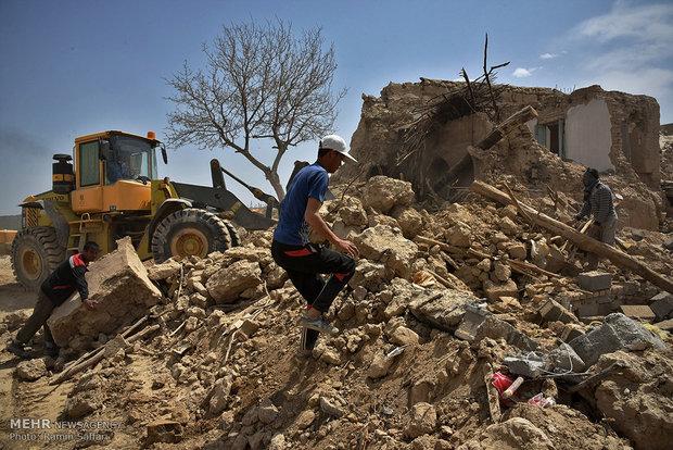 زلزال بقوة 5.3 درجة يضرب اقليم خراسان شمال شرق ايران
