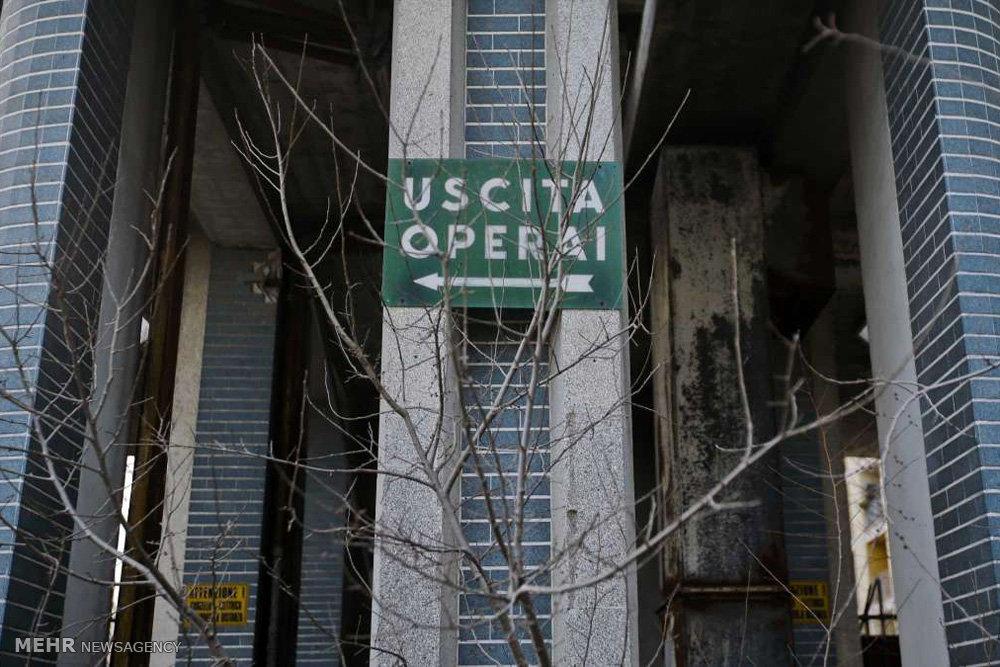 کارخانه های متروکه در میلان ایتالیا