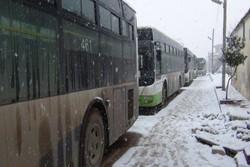 أهالي كفريا والفوعة يصلون الى حلب