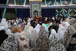 مراسم معنوی اعتكاف در مرکز اسلامی هامبورگ