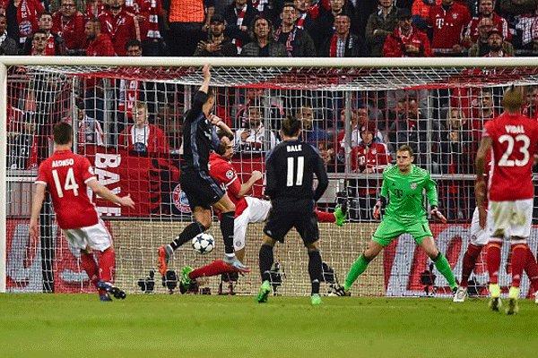 برد رئال مادرید در زمین بایرن مونیخ/ تاریخ سازی کریستیانو رونالدو,