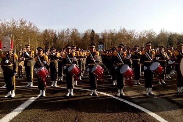 صبحگاه مشترک ارتش