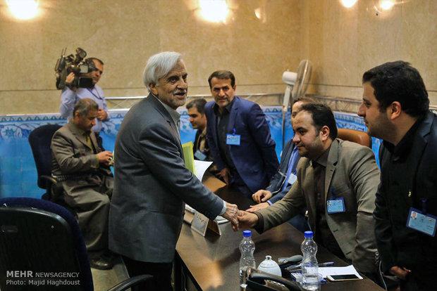 الیوم الثالث من تسجيل المرشحين للانتخابات الرئاسية في ايران
