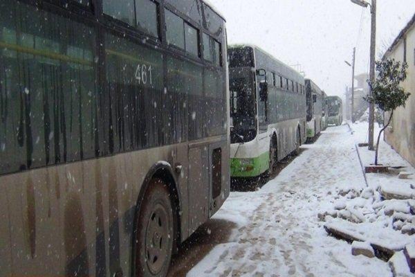 اتوبوسهای سوری
