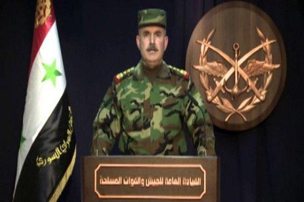 الجيش السوري يعلن وقف الأعمال القتالية في عدة مناطق بالغوطة الشرقية