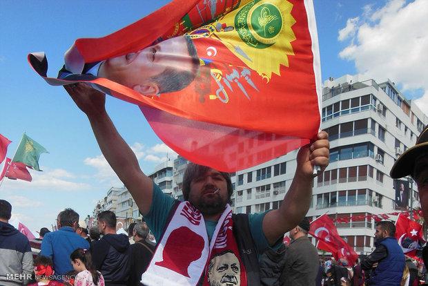 Türkiye'deki referandum kampanyalarından kareler