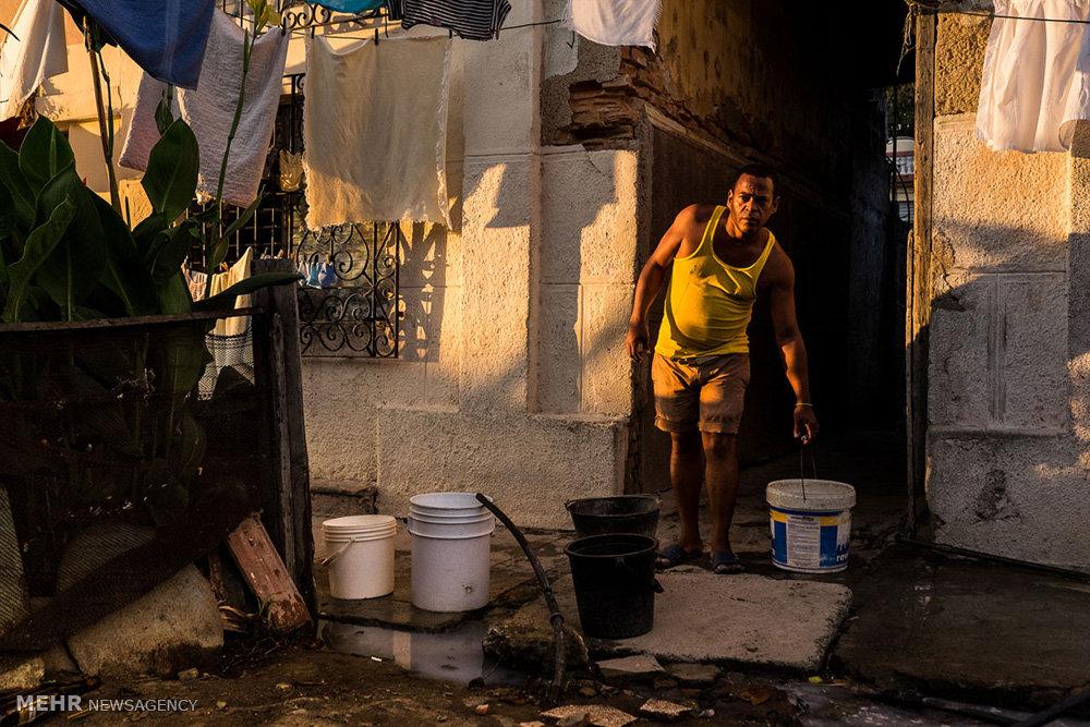 کمبود آب شرب در کوبا