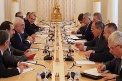 Zarif ve Lavrov Moskova'da görüştü
