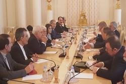 بدء الاجتماع الثلاثي بين وزراء خارجية ايران وروسيا وسوريا في موسكو