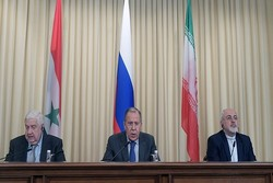 Iran, Russia, Syria hold presser in Moscow