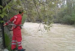 جسد کودک غرقشده در رودخانه کرج پیدا شد