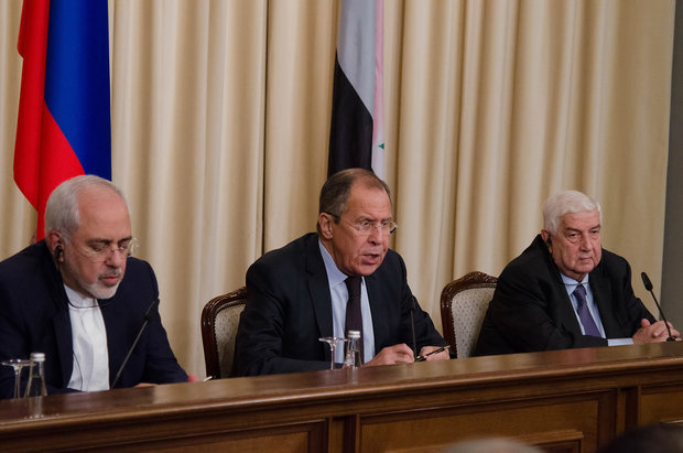Russian, Syrian, Iranian FMs to discuss Syria settlement on Friday