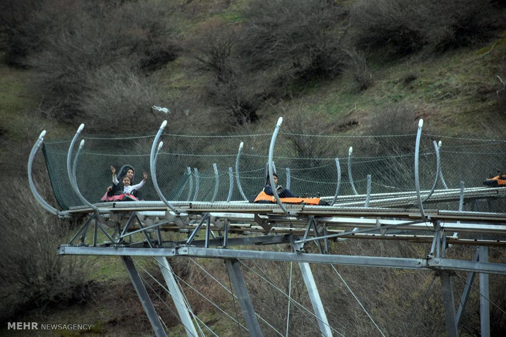 دهکده گردشگری حیران در حد فاصل مرز ایران و جمهوری آذربایجان