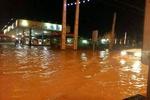 وقوع سیلاب در مشگینشهر/ شهر در خاموشی فرو رفت