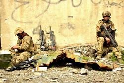 Irak güçlerinin terör karşıtı mücadelesinden kareler