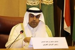 رئیس پارلمان عربی هم لب به یاوهگویی علیه ایران باز کرد
