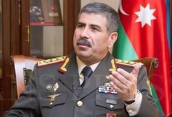 Azerbaycan Savunma Bakanı Tahran'da