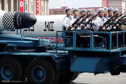 """كوريا الشمالية تعرض صواريخ """"تحول أميركا إلى قطع من اللهب"""""""