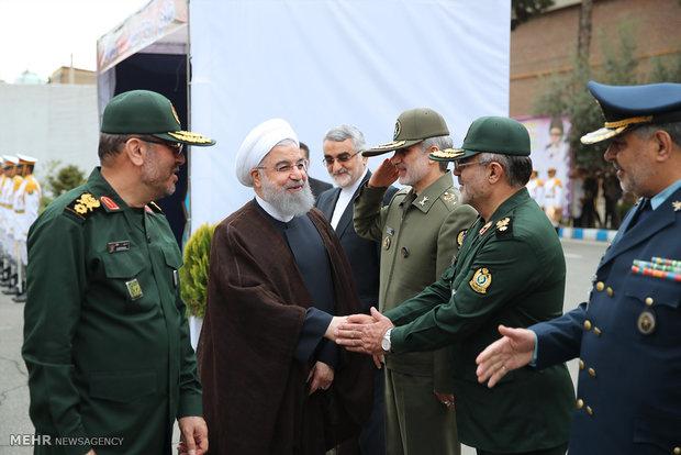 Defense achievements unveiling ceremony