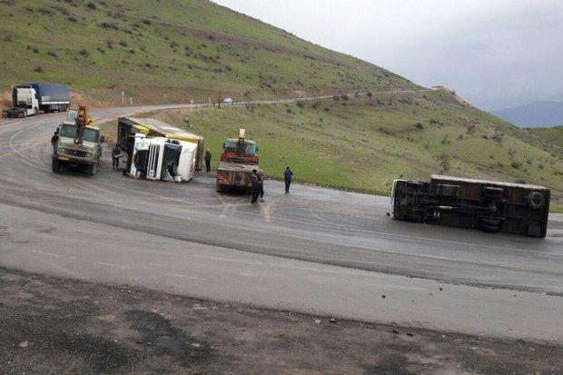 تصادف در زنجان ۲ کشته برجا گذاشت