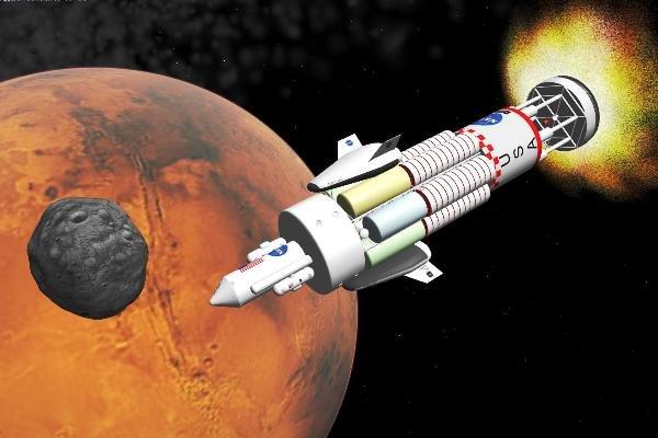 امکان حیات در مریخ با انفجار بمب هیدروژنی!
