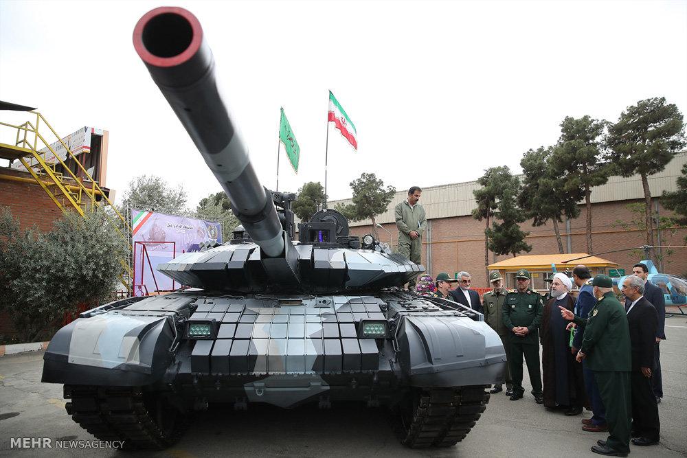 مراسم رونمایی از دستاوردهای جدید وزارت دفاع