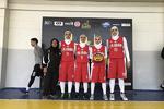 عنوان سوم تیم بسکتبال سه نفره بانوان ایران در تورنمنت قزاقستان