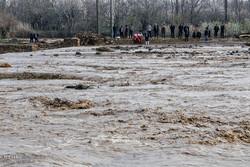 خسارات ناشی از وقوع سیل در روستای چنار آذربایجان