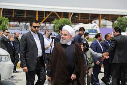 سفر حسن روحانی به رییس جمهور به بوشهر