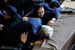 مراسم تشییع پیکر مرحوم عارف لرستانی