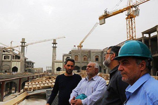 بازدید رئیس ستاد بازسازی عتبات از طرح توسعه حرمهای کربلا و نجف