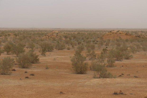 وجود 90 هزار هکتار کانون بحران بیابانی در خراسان شمالی,