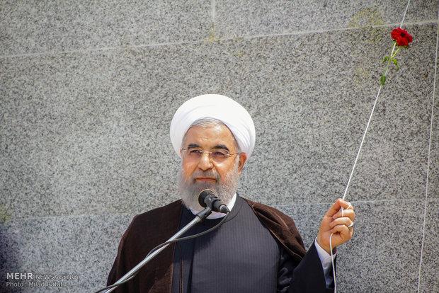 سفر حسن روحانی رییس جمهور به بوشهر