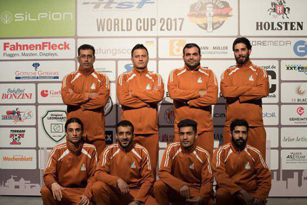 Iran clinches gold at ITSF World Cup
