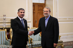 Larijani meets with Azerbaijan's defense min.