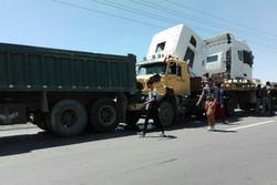 تصادف زنجیره ای در شهریار