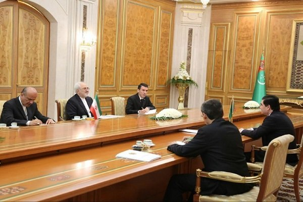 Zarif hails Turkmen Pres. for neutral stance on regional issues
